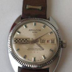 Horloges de parquet: ANTIGUO RELOJ AMULCOR SUPER 23 CHOCRESISTEND WARERPROOF. Lote 246772125