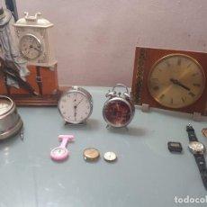 Relógios de pé: LOTE DE RELOJES . TITAN . DOGMA . ZENIT . LA MAYORIA FUNCIONANDO OTROS PARA PIEZAS. Lote 247745995