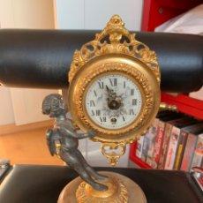 Horloges de parquet: ANTIGUO RELOJ. CON QUERUBIN. MAQUINARIA EMES 52. A REVISAR. Lote 249181835
