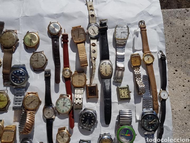 Relojes de pie: Relojes antiguos lote de los años 1930- 40 -50- 60-70 - Foto 3 - 252838960