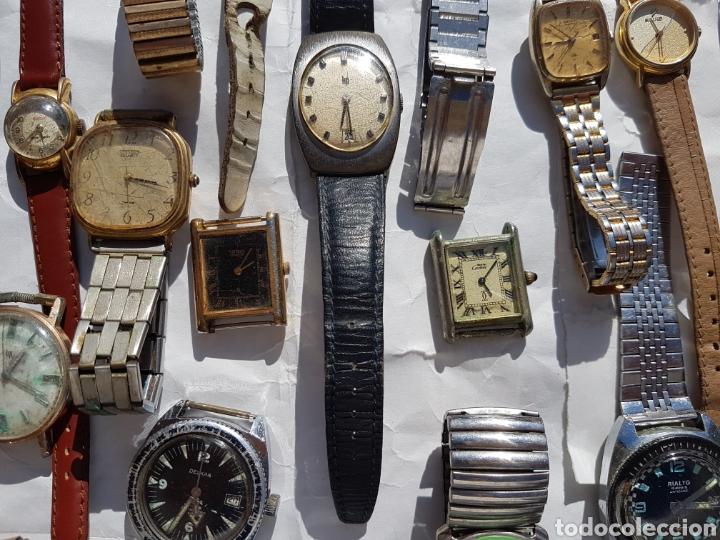 Relojes de pie: Relojes antiguos lote de los años 1930- 40 -50- 60-70 - Foto 7 - 252838960