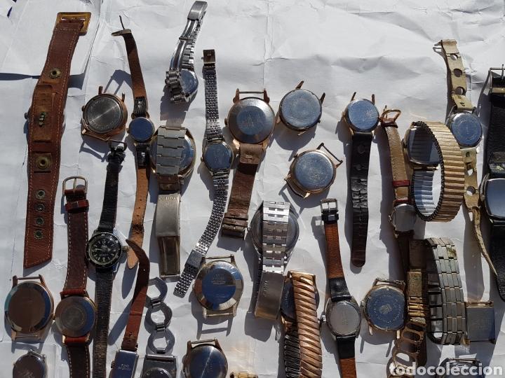 Relojes de pie: Relojes antiguos lote de los años 1930- 40 -50- 60-70 - Foto 9 - 252838960