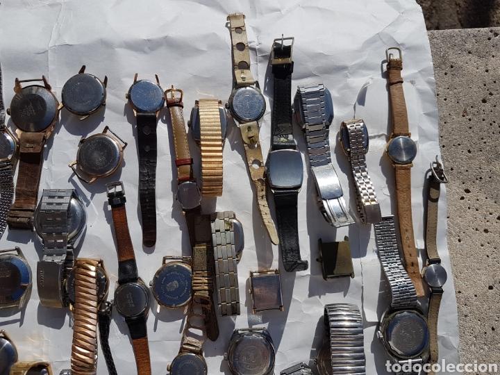 Relojes de pie: Relojes antiguos lote de los años 1930- 40 -50- 60-70 - Foto 11 - 252838960