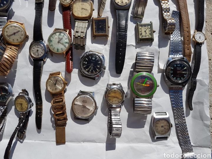 Relojes de pie: Relojes antiguos lote de los años 1930- 40 -50- 60-70 - Foto 13 - 252838960