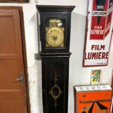 Relojes de pie: RELOJ DE RATERA EN CAJA DE MADERA. Lote 253645485