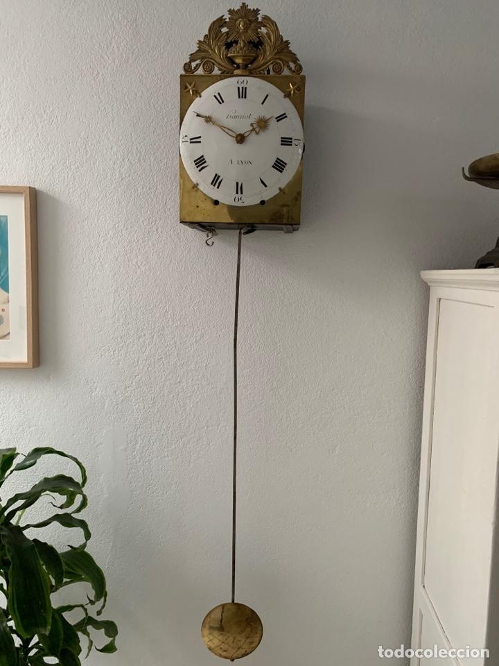 RELOJ MOREZ 30 DÍAS AÑO 1820 (Relojes - Pie Carga Manual)