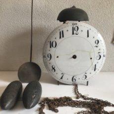 Relógios de pé: RELOJ DE PARED FINALES SIGLO XVIII. Lote 255517510