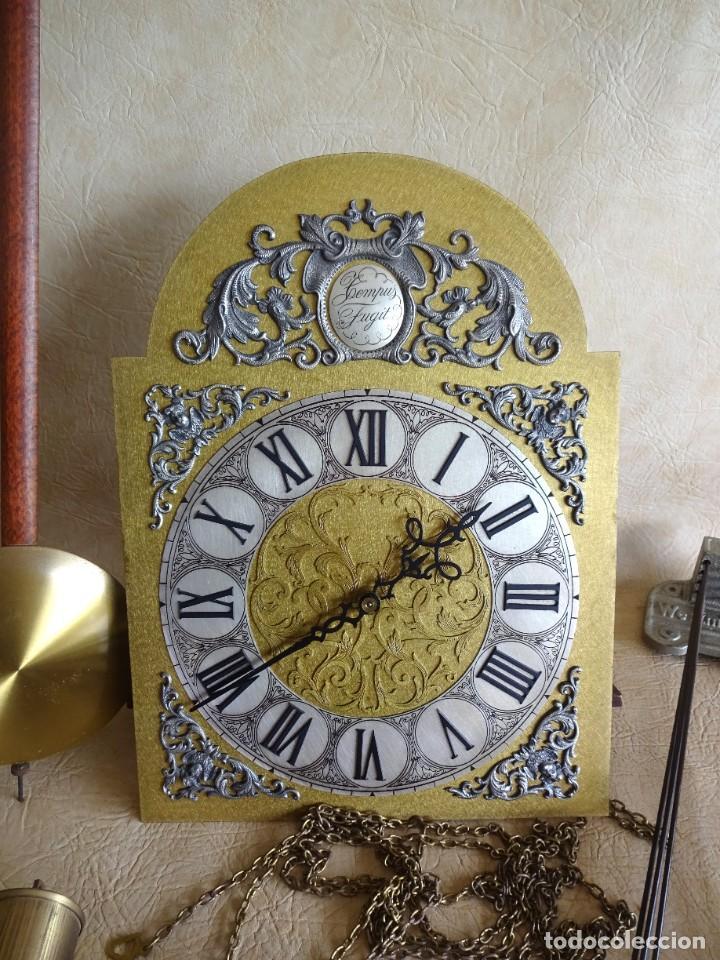 Relojes de pie: reloj de torre tempus fugit con soneiras westminster toca cuartos funciona - Foto 2 - 257469670