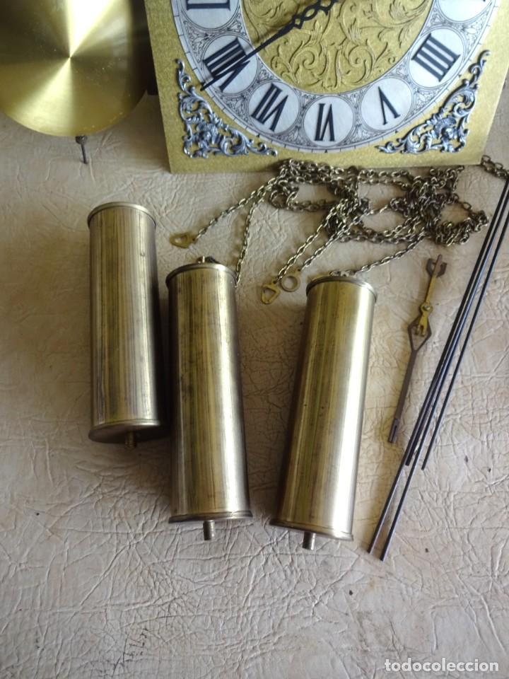 Relojes de pie: reloj de torre tempus fugit con soneiras westminster toca cuartos funciona - Foto 3 - 257469670