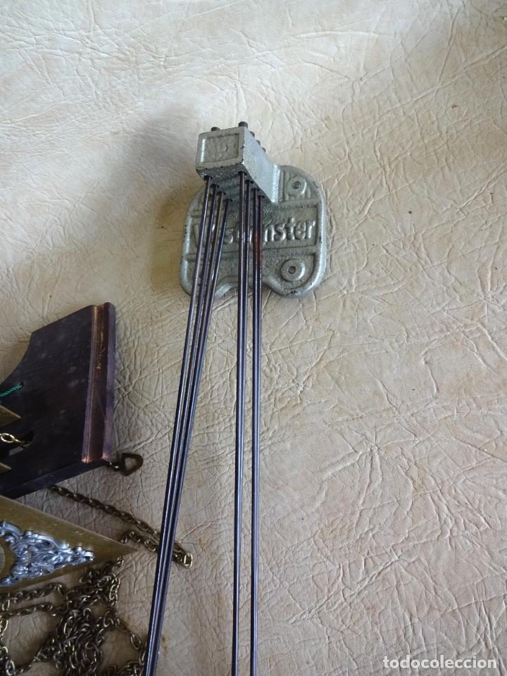 Relojes de pie: reloj de torre tempus fugit con soneiras westminster toca cuartos funciona - Foto 4 - 257469670