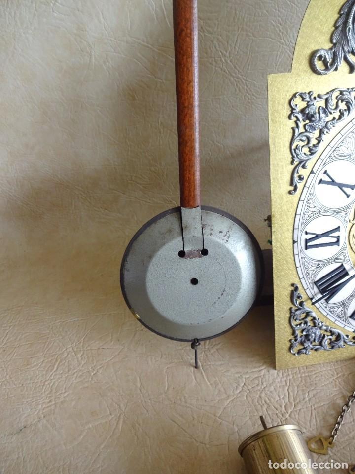 Relojes de pie: reloj de torre tempus fugit con soneiras westminster toca cuartos funciona - Foto 8 - 257469670