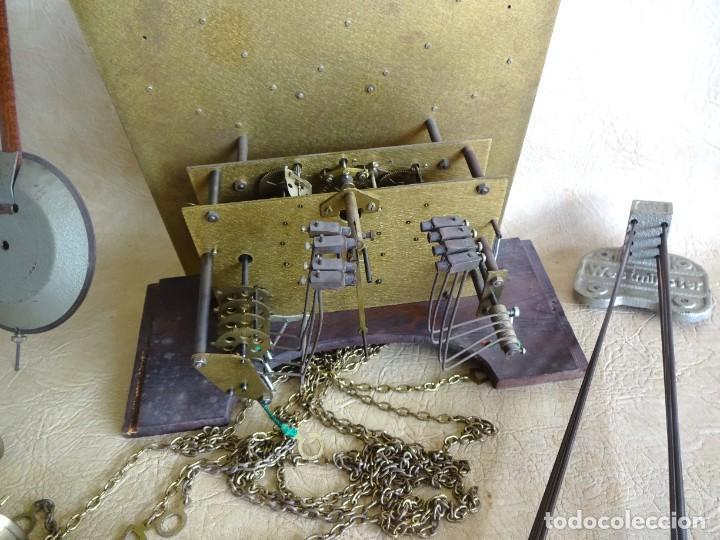 Relojes de pie: reloj de torre tempus fugit con soneiras westminster toca cuartos funciona - Foto 10 - 257469670