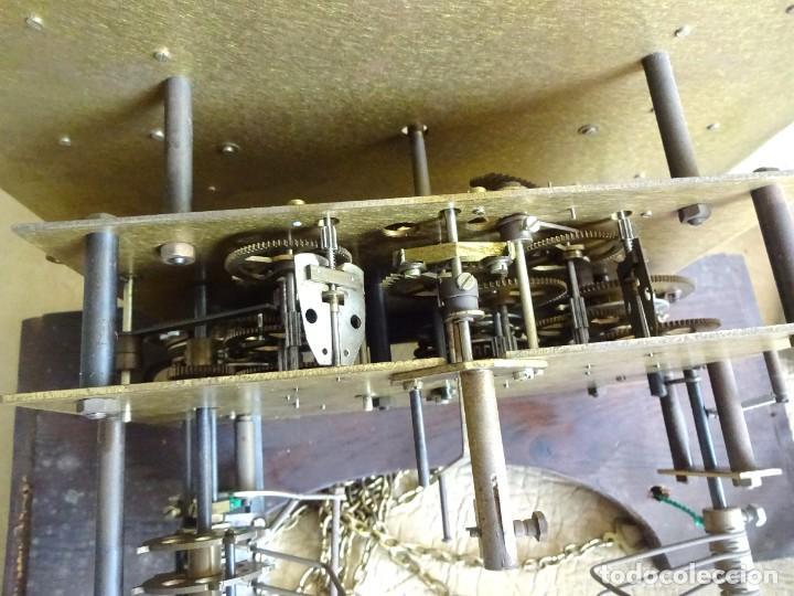 Relojes de pie: reloj de torre tempus fugit con soneiras westminster toca cuartos funciona - Foto 11 - 257469670
