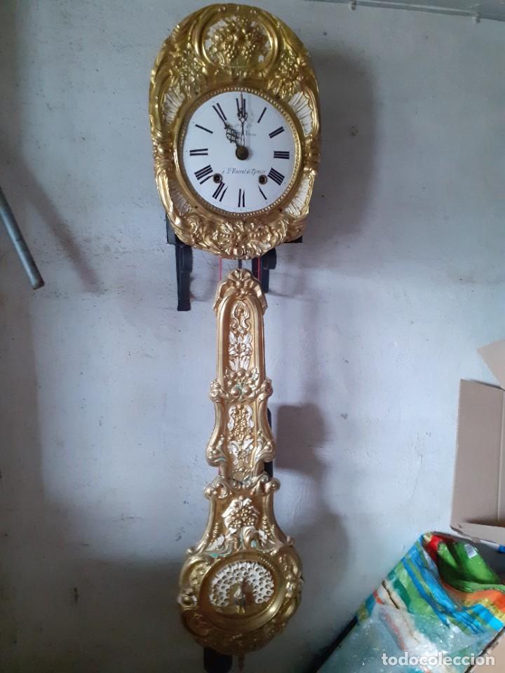RELOJ MOREZ COMPLETO, SIN EL MUEBLE (Relojes - Pie Carga Manual)
