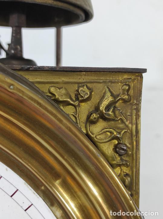 Relojes de pie: Antiguo Reloj Morez - Sonería de Cuatro Campanas - Completo - Funciona - S. XIX - Foto 5 - 265536169