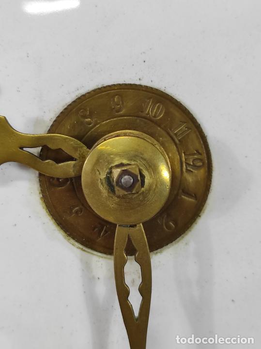 Relojes de pie: Antiguo Reloj Morez - Sonería de Cuatro Campanas - Completo - Funciona - S. XIX - Foto 7 - 265536169