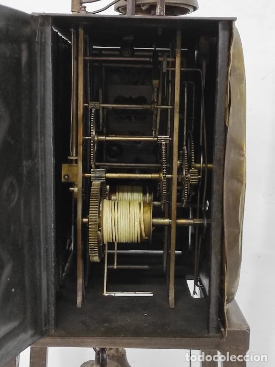 Relojes de pie: Antiguo Reloj Morez - Sonería de Cuatro Campanas - Completo - Funciona - S. XIX - Foto 20 - 265536169