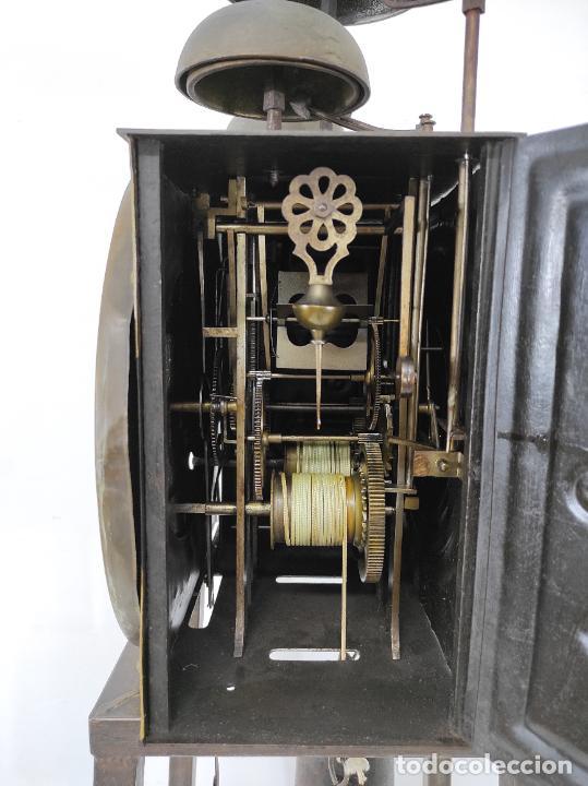 Relojes de pie: Antiguo Reloj Morez - Sonería de Cuatro Campanas - Completo - Funciona - S. XIX - Foto 27 - 265536169