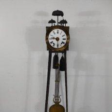 Relojes de pie: ANTIGUO RELOJ MOREZ - SONERÍA DE CUATRO CAMPANAS - COMPLETO - FUNCIONA - S. XIX. Lote 265536169