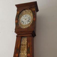 Relógios de pé: RELOJ DE MOREZ PÉNDULO REAL CON LA CAJA ORIGINAL MUY DETALLADO BUEN ESTADO FUNCIONA ALTA COLECCIÓN. Lote 267469564