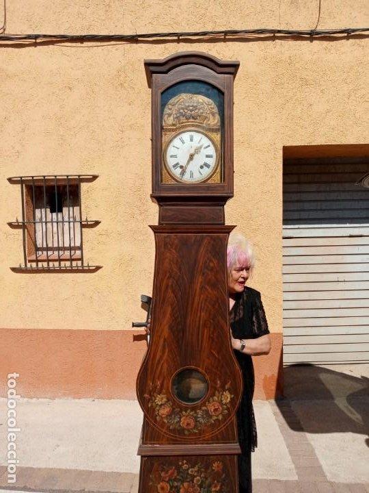 Relojes de pie: RELOJ DE PIE - ANTIGUO . - Foto 5 - 268268054