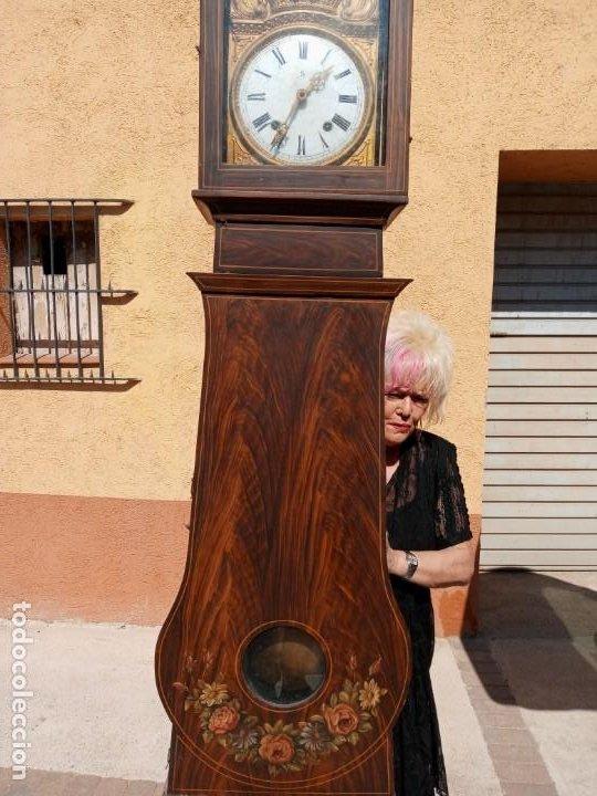 Relojes de pie: RELOJ DE PIE - ANTIGUO . - Foto 6 - 268268054