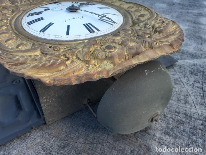 Relojes de pie: Reloj morez siglo XIX, buen funcionamiento - Foto 4 - 268776484