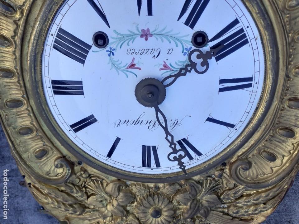 Relojes de pie: Reloj morez siglo XIX, buen funcionamiento - Foto 3 - 268776484