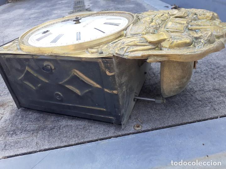 Relojes de pie: Reloj morez conmemorativo Papa Pio Nono - Foto 8 - 268878419