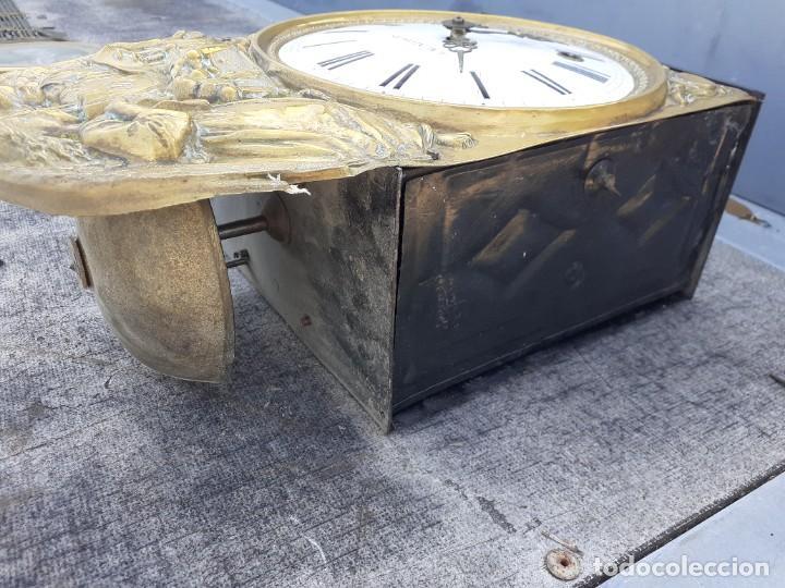 Relojes de pie: Reloj morez conmemorativo Papa Pio Nono - Foto 7 - 268878419