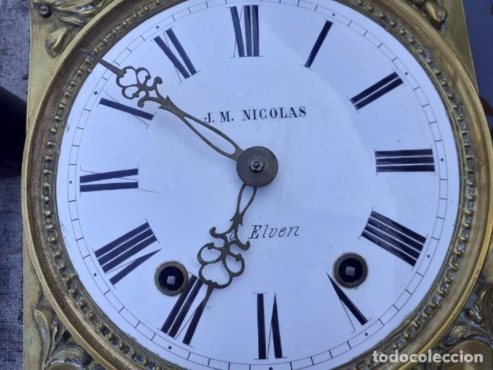 Relojes de pie: Reloj morez conmemorativo Papa Pio Nono - Foto 6 - 268878419