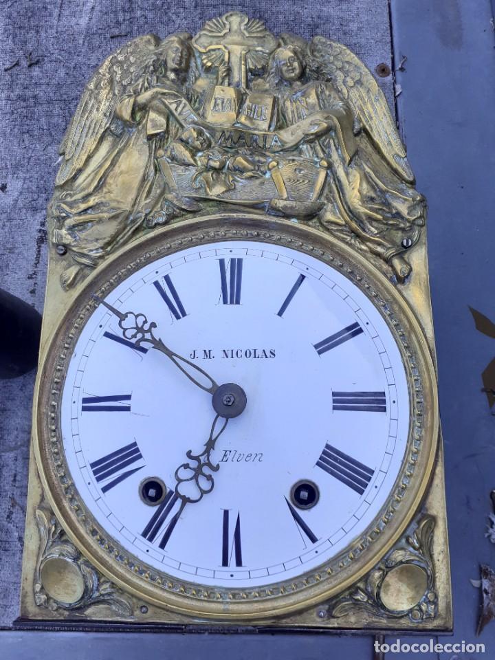 Relojes de pie: Reloj morez conmemorativo Papa Pio Nono - Foto 4 - 268878419