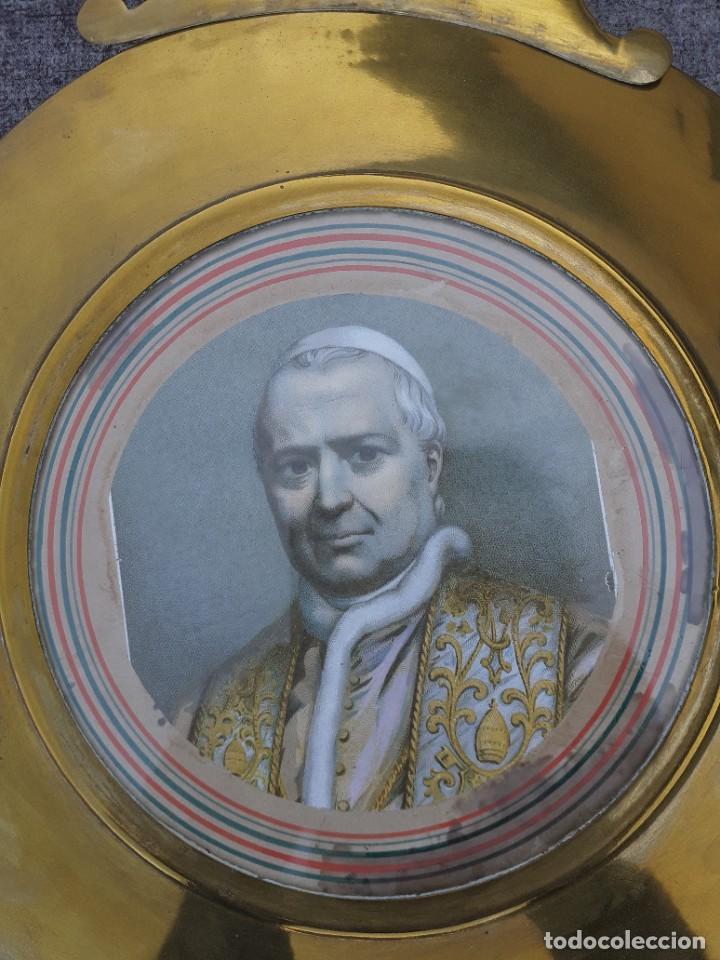 Relojes de pie: Reloj morez conmemorativo Papa Pio Nono - Foto 3 - 268878419