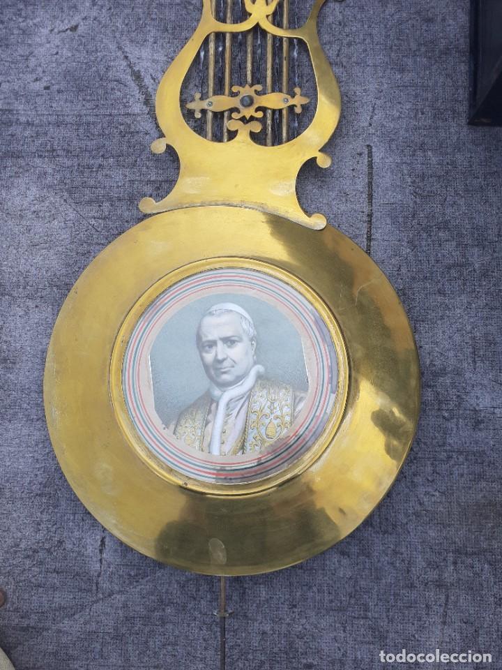 Relojes de pie: Reloj morez conmemorativo Papa Pio Nono - Foto 2 - 268878419