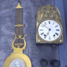 Orologi a pendolo: RELOJ MOREZ CONMEMORATIVO PAPA PIO NONO. Lote 268878419