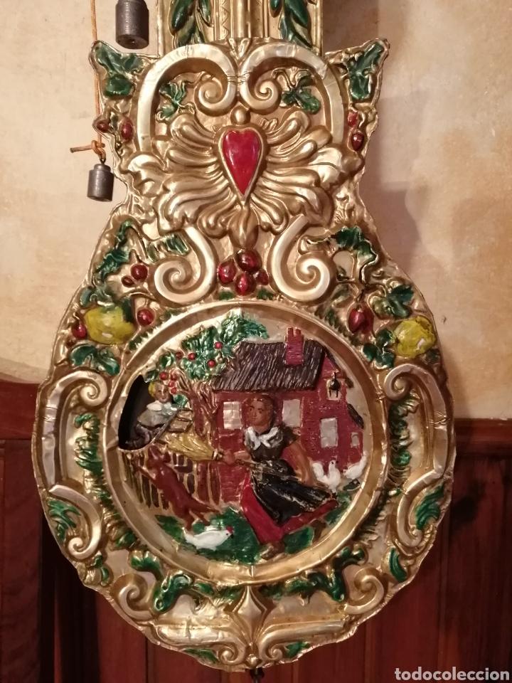 Relojes de pie: Reloj Morez autómata movimiento ladrón de manzanas - Foto 2 - 268894309