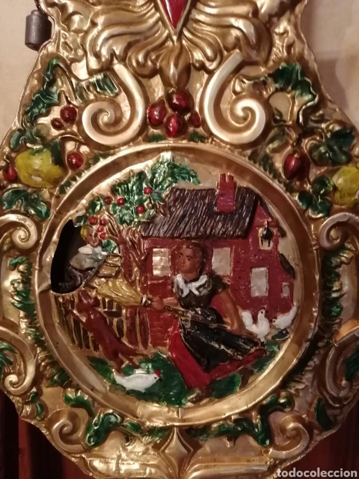 Relojes de pie: Reloj Morez autómata movimiento ladrón de manzanas - Foto 4 - 268894309