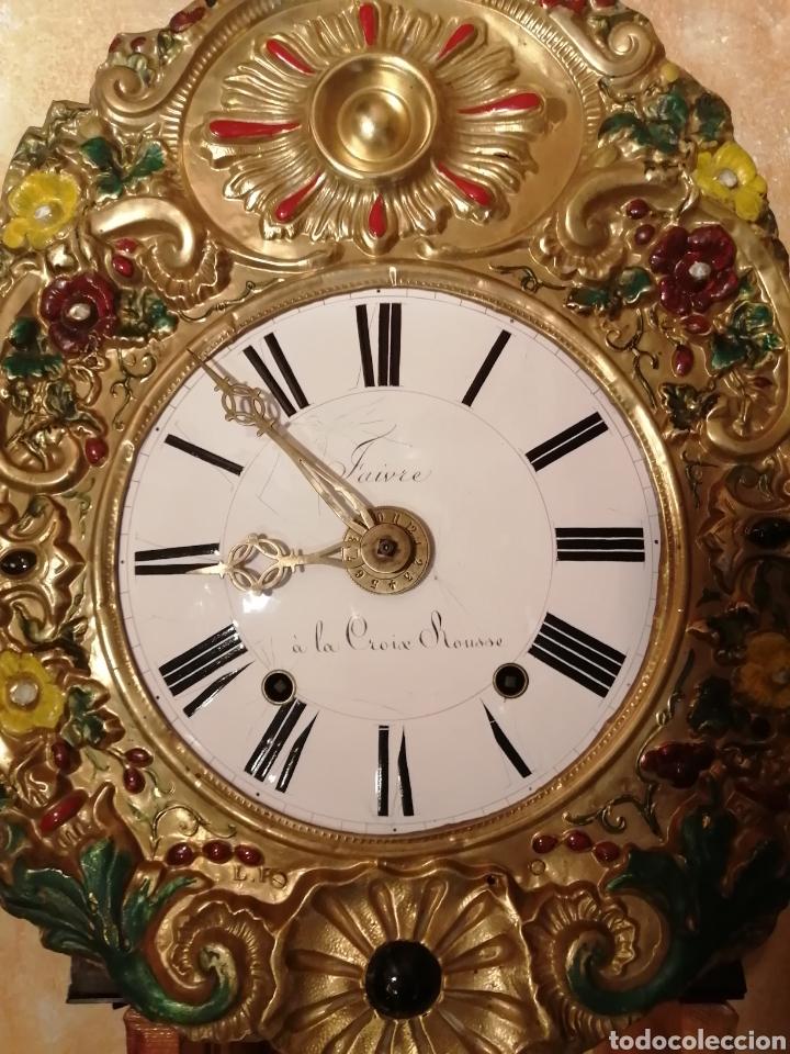 RELOJ MOREZ AUTÓMATA MOVIMIENTO LADRÓN DE MANZANAS (Relojes - Pie Carga Manual)