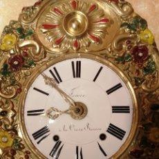 Relojes de pie: RELOJ MOREZ AUTÓMATA MOVIMIENTO LADRÓN DE MANZANAS. Lote 268894309