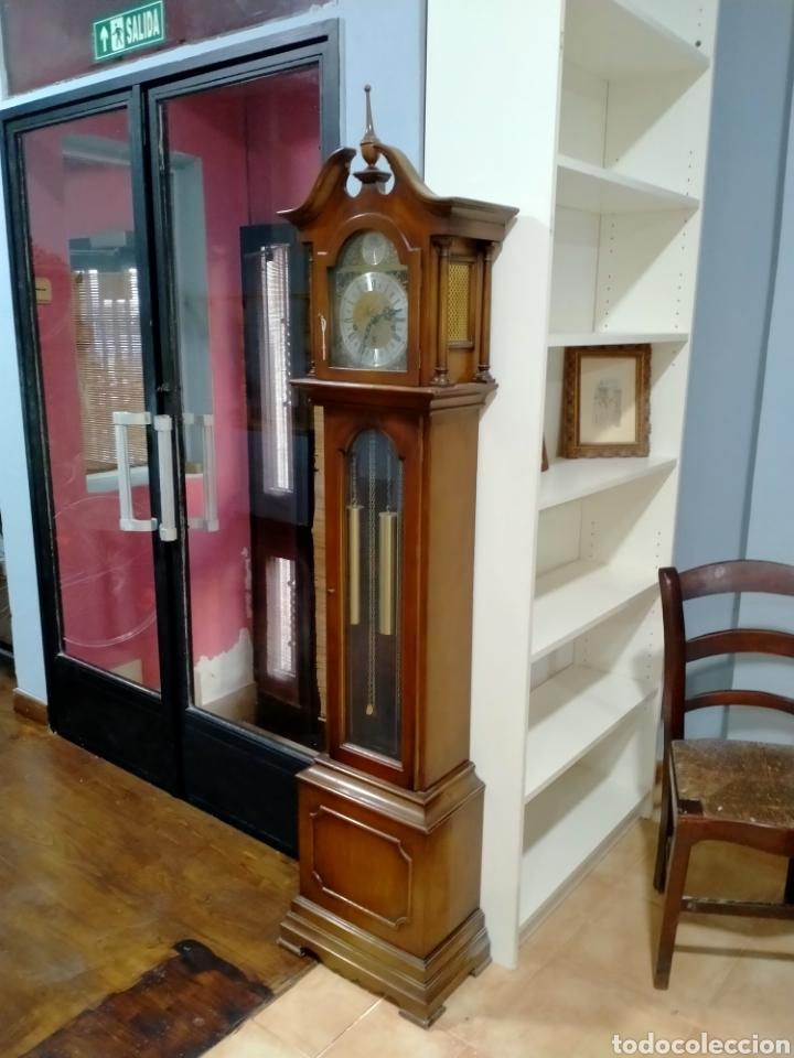 Relojes de pie: Reloj de pie carga manual ni se embala ni se envía - Foto 4 - 269035399
