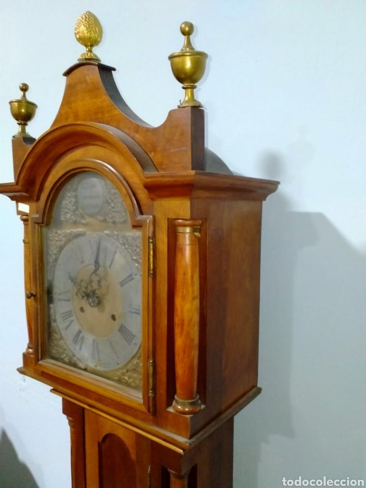 Relojes de pie: Reloj de pié cargá manual siglo XX REF-1576 - Foto 3 - 269037988