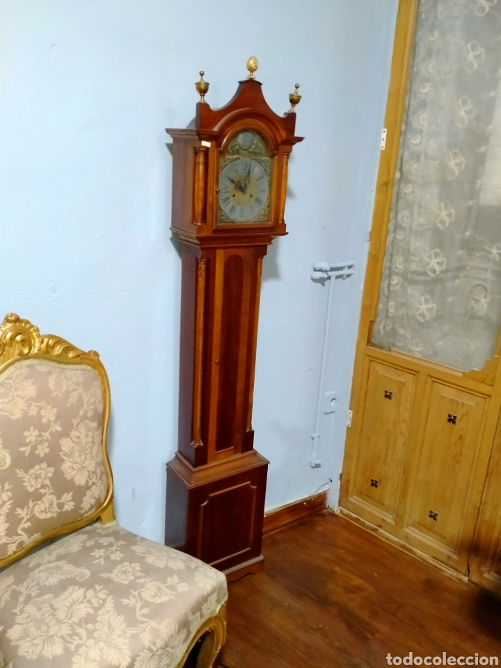 Relojes de pie: Reloj de pié cargá manual siglo XX REF-1576 - Foto 4 - 269037988