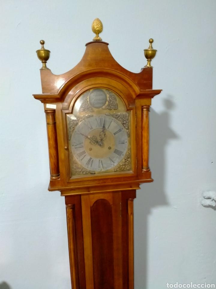 Relojes de pie: Reloj de pié cargá manual siglo XX REF-1576 - Foto 5 - 269037988