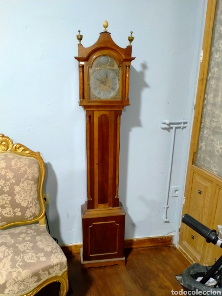 RELOJ DE PIÉ CARGÁ MANUAL SIGLO XX REF-1576 (Relojes - Pie Carga Manual)
