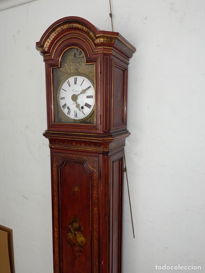 Relojes de pie: RELOJ DE PIE CON CAJA DE MADERA. SIGLO XIX. - Foto 2 - 269096078