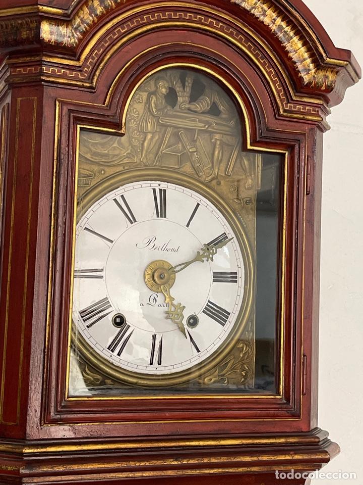 Relojes de pie: RELOJ DE PIE CON CAJA DE MADERA. SIGLO XIX. - Foto 4 - 269096078