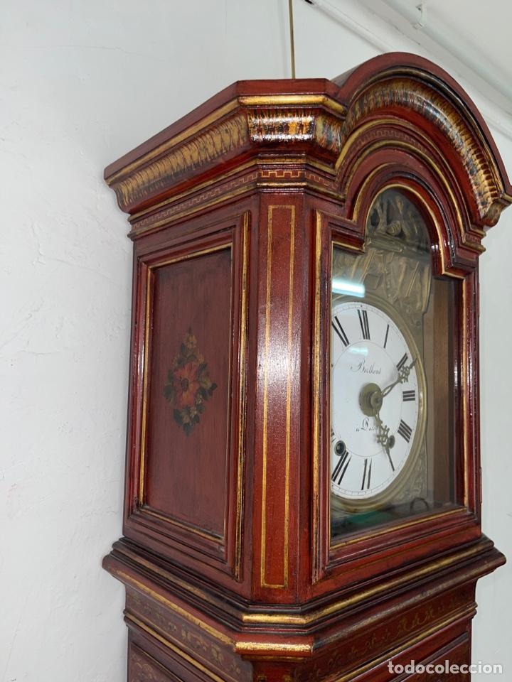 Relojes de pie: RELOJ DE PIE CON CAJA DE MADERA. SIGLO XIX. - Foto 5 - 269096078