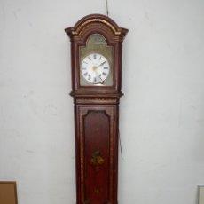 Relojes de pie: RELOJ DE PIE CON CAJA DE MADERA. SIGLO XIX.. Lote 269096078