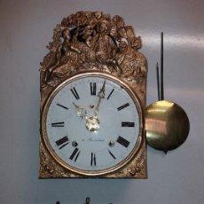 Relojes de pie: RELOJ MOREZ 4 CAMPANAS DE BARCELONA. Lote 269249913