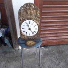 Relógios de pé: RELOJ MOREZ COMPLETO, LIMPIO Y ENGRASADO. Lote 269311768